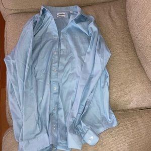 NWOT Men's Calvin Klein Slim Fit Dress Shirt